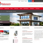 hekonorm website met responsive design