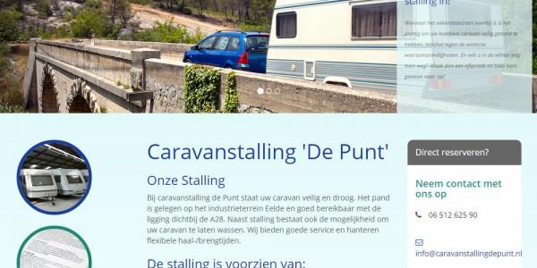 website caravanstalling de punt