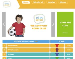 ClubSupport Homepage